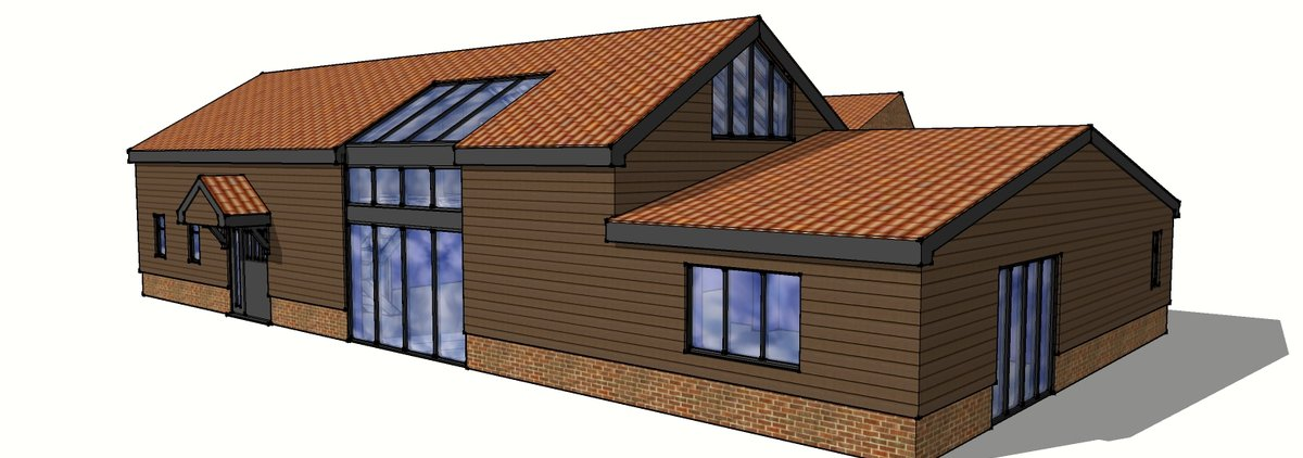 Conceptual Building Extension & Remodelling 3D Modelling