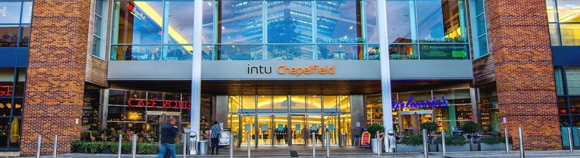 Intu Chapelfield Shopping Centre Norwich Technicus Consulting provide structural design and consultancy services